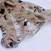 šátek Paříž - detail
