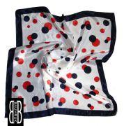 Zvětšit fotografii - šátek na krk s puntíky