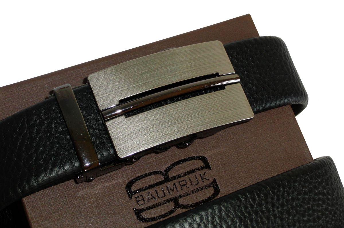 kožený pásek Ocean Black Baumruk